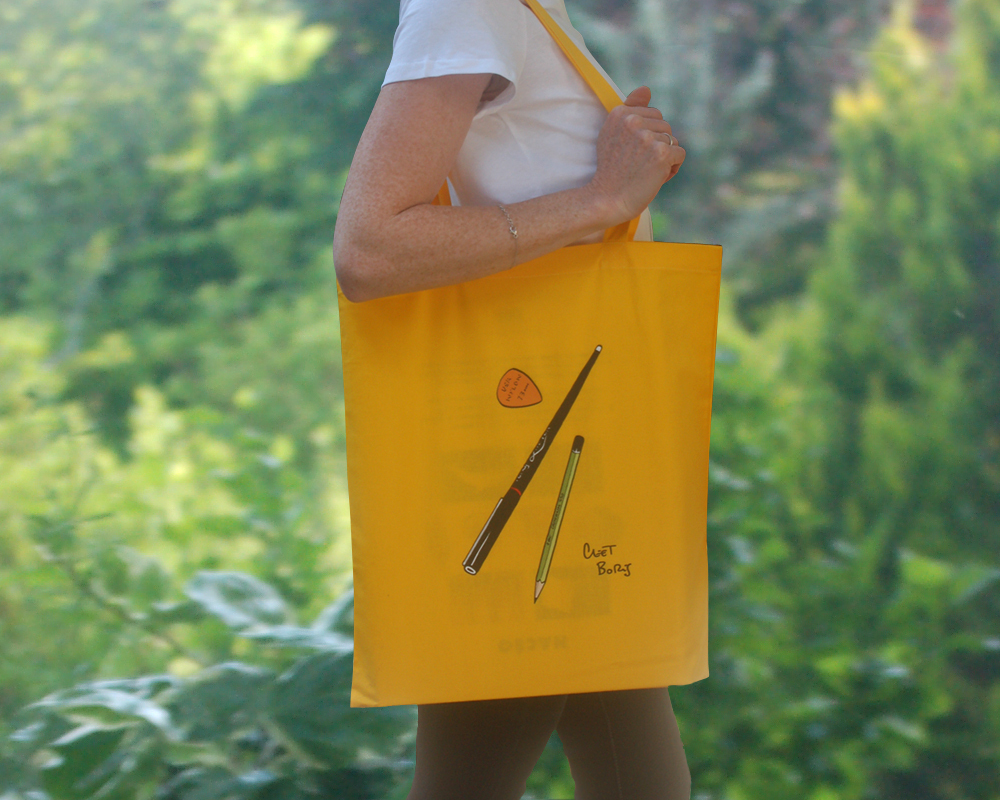 Plumes & Médiator Tote Bag Sunflower