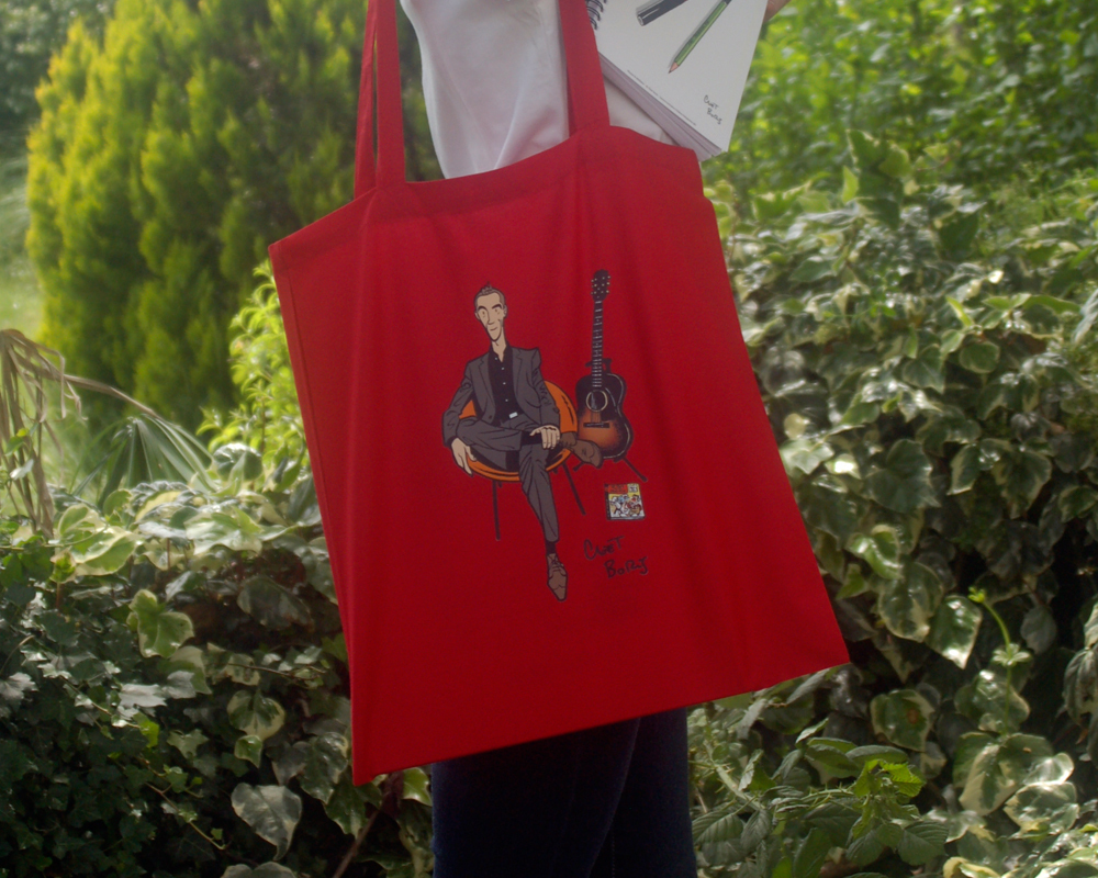 Le monde d'Hubert Tote Bag Rouge