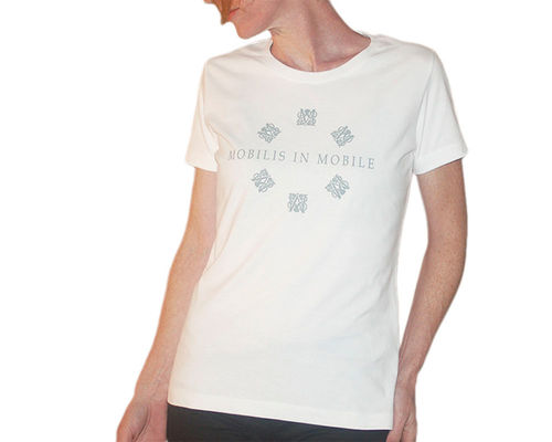 Mobilis In Move T-shirt Femme Blanc