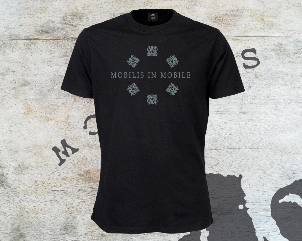 Mobilis In Move T-shirt Homme Noir